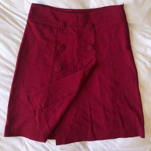 TALBOTS Pink High Waisted A-Line Skirt